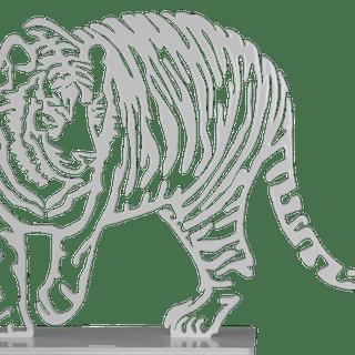 DANU - Tigre Blanc GM 1.1m