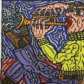 MONTREUX JAZZ FESTIVAL - Robert Combas 1992