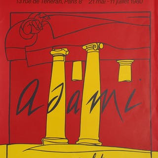 ADAMI Valério - Galerie Maeght