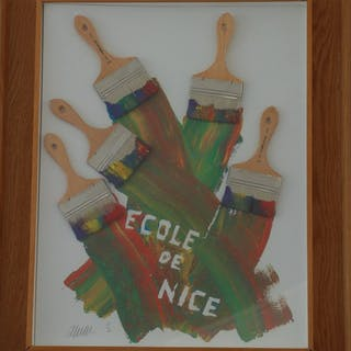 ARMAN Pierre Fernandez - Ecole de Nice 1987