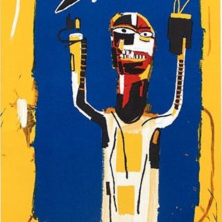 BASQUIAT Jean-Michel - Welcoming Jeers