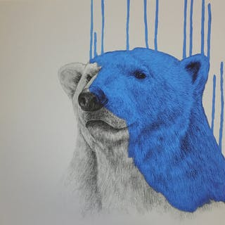 MCNAUGHT Louise - Hey There, Polar Bear - Cool Blue