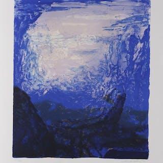 ZAO Wou-Ki - Les 4 saisons - Bleue