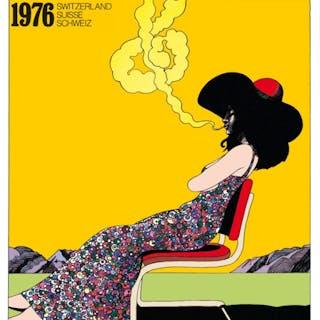 MONTREUX JAZZ FESTIVAL - Milton Glaser 1976
