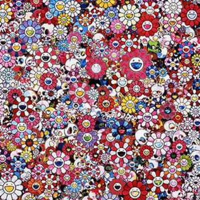 DAZZLING CIRCUS: EMBRACE PEACE AND DARKNESS WITHIN THY HEART - TAKASHI MURAKAMI