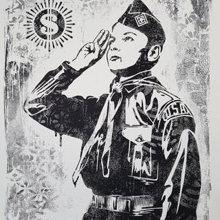 LEARN TO OBEY (STENCIL SERIES) - OBEY (SHEPARD FAIREY)