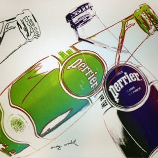 PERRIER (WHITE) - ANDY WARHOL