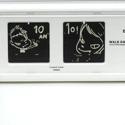 44 . Walk On Alarm Clock White - Yoshimoto Nara