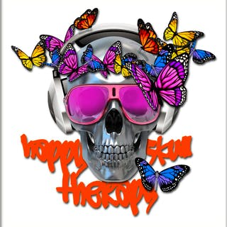 Happy Skull Therapy - extra grand modèle