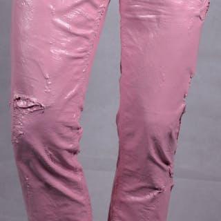 Wild jeans - pink vintage