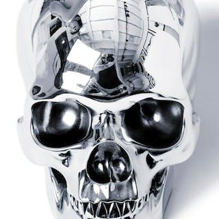 Silver skull 1