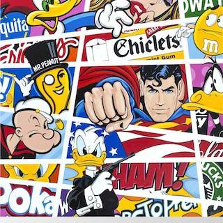 Comic Stripes No 7