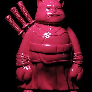 Big samurai dark pink