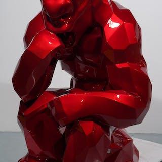 Kong Penseur - Rouge Flamme (180cm)
