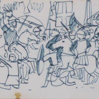 Joan Carles Roca-Sans: Dibujo (1979)