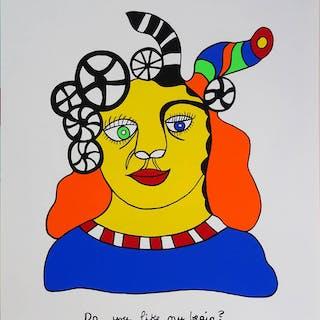"""Niki de Saint Phalle: """"Do you like my brain?"""" 1609/2500"""