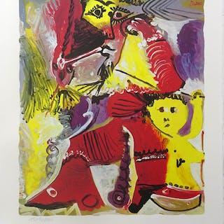 """Pablo Picasso: """"Figura de Rembrandt y Eros"""" 1519/2000"""