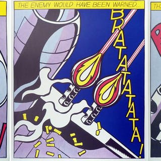 "Roy Lichtenstein: ""As I opened Fire"" (1964)"