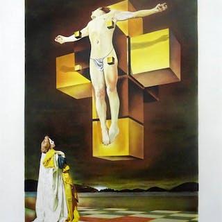 """Salvador Dalí: """"Corpus Hypercubus"""" 65/199"""