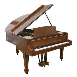 A Steinway mahogany 'Model O Boudoir' grand piano