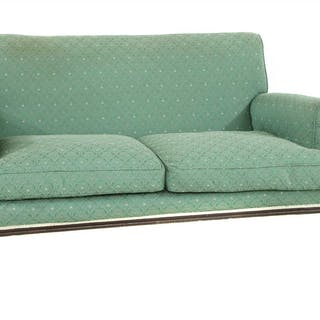 An Edwardian sofa