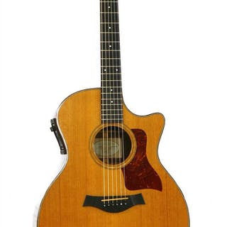 A 2001 Taylor 714-CE electro acoustic guitar