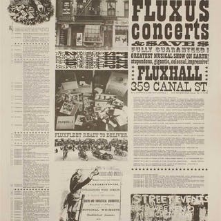 Fluxus newspaper