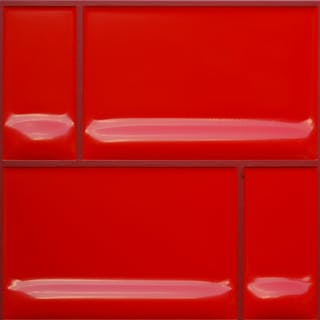 Untitled #7 (Red / Dark Red) - Bryan Lavelle