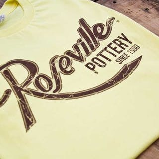 969e9f0f2 Roseville Pottery T-Shirts ---- Fashion Fit Tee --- Spring Yellow