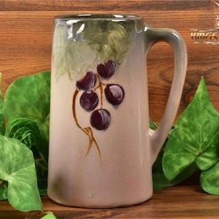 Weller Pottery 1906 Grapes on Leaves Etna Mug Stein