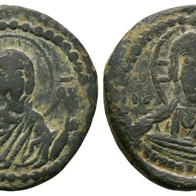 Ancient Byzantine Coins - Romanus IV - Class G Anonymous Follis