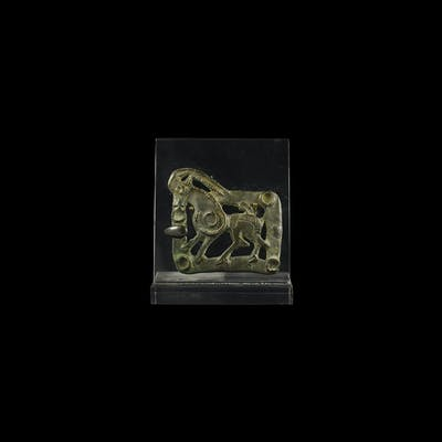 Parthian Buckle with Quadruped