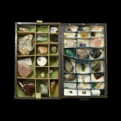 Natural History - Historic Mineral and Gemstone Collection