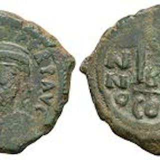 Ancient Byzantine Coins - Heraclius - M Follis