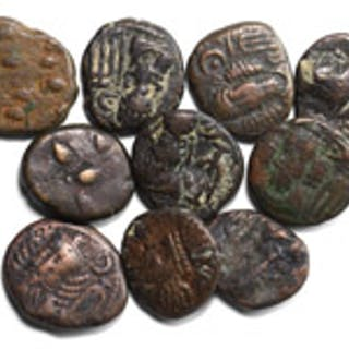 Ancient Greek Coins - Elymais - Arsacid - Drachms [10]