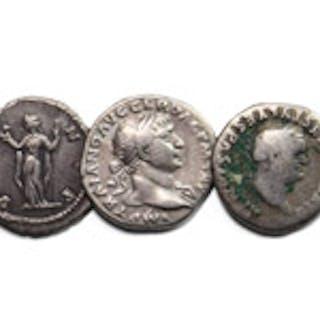 Roman Imperial Coins - Vespasian to Faustina I - Denarii [5]