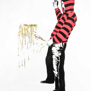 Lewis Bannister (British), 'Piss Artist', 2017