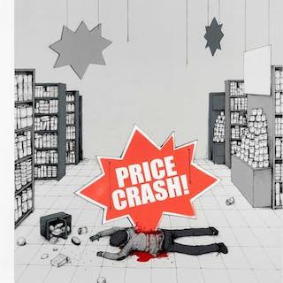Dran (French b.1979), 'Price Crash', 2013