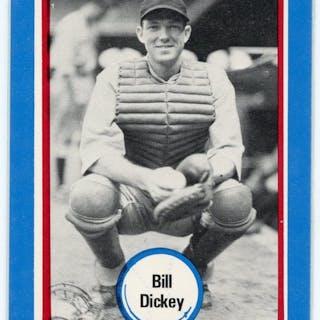 1976 Shakey's Pizza #71 Bill Dickey