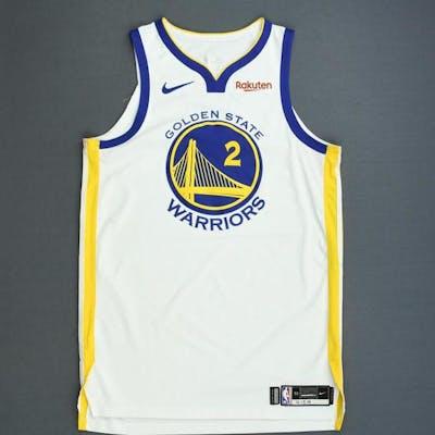 size 40 35d76 37325 Jordan Bell - Golden State Warriors - Game-Worn Association ...