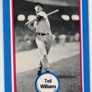 1976 Shakey's Pizza #103 Ted Williams