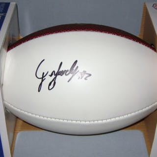 NFL - JOSEPH YEARBY SIGNED PANEL BALL