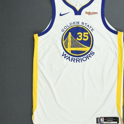 newest 7a80f f6c20 Kevin Durant - Golden State Warriors - Game-Worn Association ...