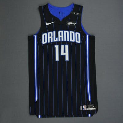 D.J. Augustin - Orlando Magic - Game-Worn Statement Edition Jersey