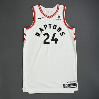 Norman Powell - Toronto Raptors - 2019 NBA Finals - Game 1 - Game-Worn