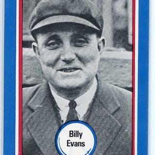 1976 Shakey's Pizza #136 Billy Evans