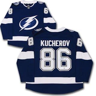 Nikita Kucherov Autographed Tampa Bay Lightning Fanatics Jersey
