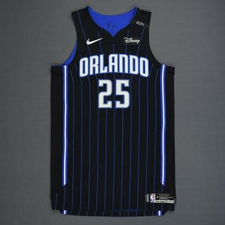 super popular 58b7a e996d Wes Iwundu - Orlando Magic - Game-Worn Statement Edition ...