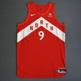 Serge Ibaka - Toronto Raptors - 2019 NBA Finals - Game 4 - Game-Worn