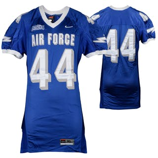 Air Force Falcons Game-Used #44 Blue Football Jersey from the 2002-06